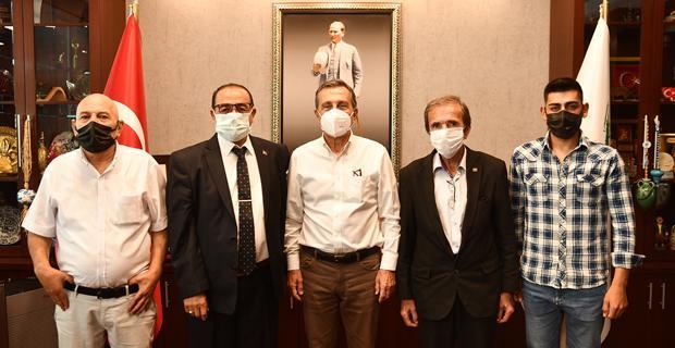 CHP Sivrihisar'dan Başkan Ataç'a Ziyaret