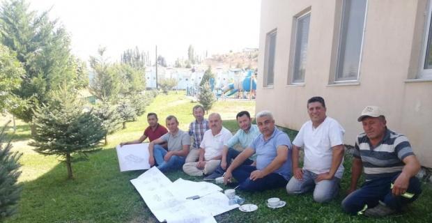 Esire Kaplıcaları'na Türk hamamı ve açık yüzme havuzu yapılacak