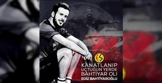 Eskişehirspor Ediz Bahtiyaroğlu'nu unutmadı