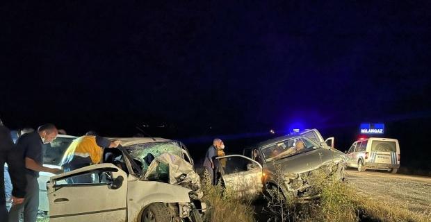 Karabük'te katliam gibi kaza: 2 ölü, 6 yaralı
