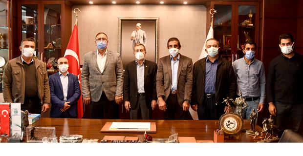 Kızılcaörenlilerden Başkan Ataç'a Teşekkür