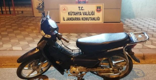 Tavşanlı'da motosiklet hırsızı yakalandı