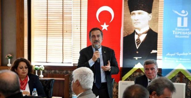 Başkan Ataç Sivrihisarlılar ile buluştu