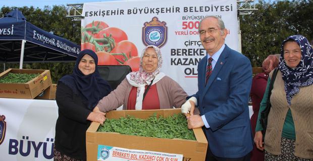 Büyükerşen'den Çiftçi Kadınlar Günü mesajı
