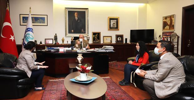 Cemre Kadın Kooperatifi'nden Büyükerşen'e Ziyaret