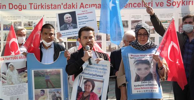 Çin'in zulmünü duyurmak için Eskişehir'e geldiler