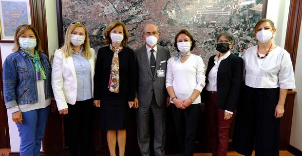 ÇYDD'den Başkan Büyükerşen'e Ziyaret