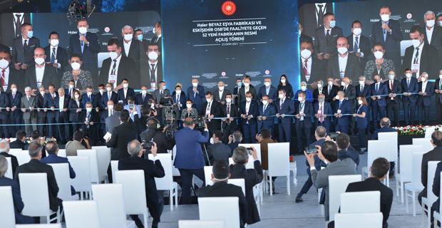 Erdoğan, 52 yeni tesisin açılışını yaptı