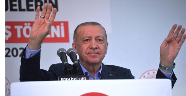Erdoğan Eskişehir'de 2023 sözü istedi