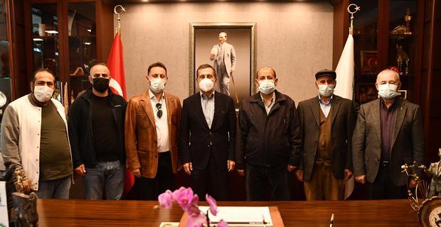 ES-Ander'den Başkan Ataç'a Ziyaret