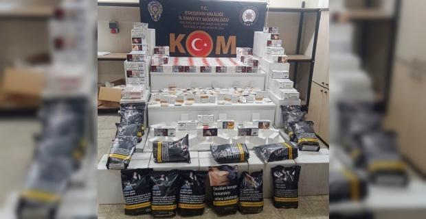 Eskişehir'de makaron operasyonu