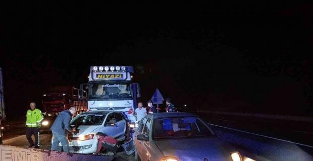 Eskişehir'de zincirleme trafik kazası: 7 yaralı