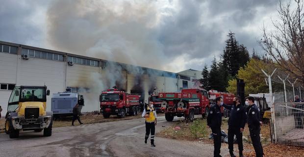 EskişehirOSB'de fabrika yangını