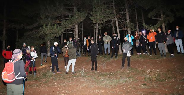Gençler Kent Orman'ında Yürüdü