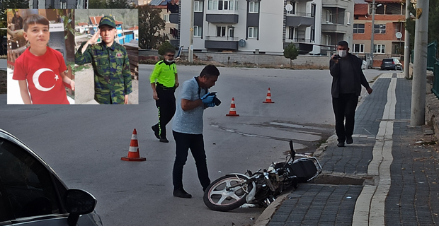 İki kardeşin motosiklet yolculuğu facia ile sonuçlandı
