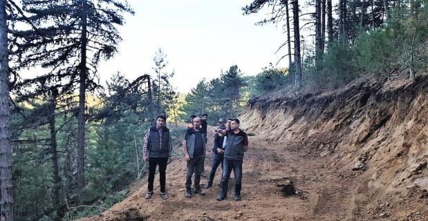 Kütahya'da orman yol ağı genişliyor
