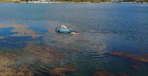 Pelitözü Gölet'i  temizlenmeye başlandı