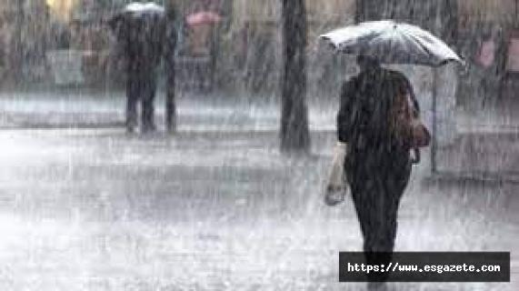 Sağanak yağış ve zirai don uyarısı