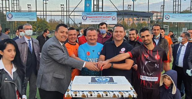 Sağlık Sen'den Cumhuriyet Kupası