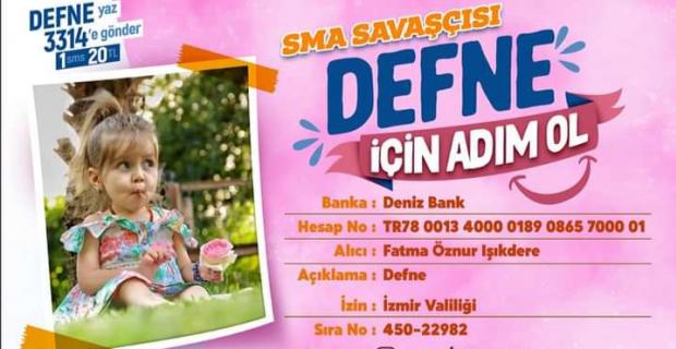 SMA hastası çocuğa destek olmak için bilbordlara reklam verdi