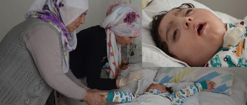 Ömer Ali'nin tek çaresi beyin kök hücre ameliyatı
