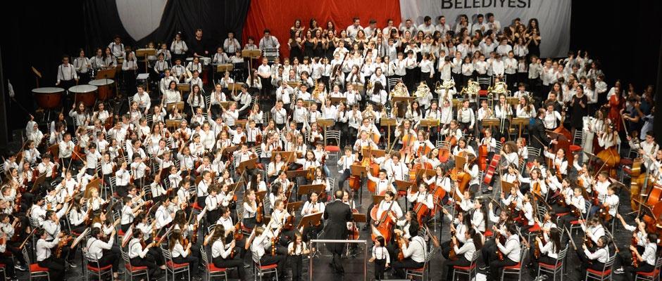 Tepebaşı Çocuk Senfoni Orkestreası 3 yaşında
