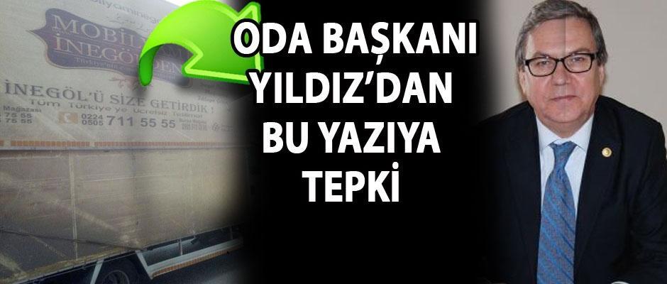 Eskişehir'de İnegöl mobilyası reklamı olmaz!