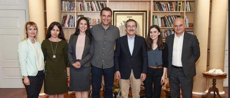 Ataç, Tiran Belediye başkanı Veliaj'ı ziyaret etti