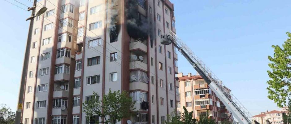 Kütahya'da yangın yaralılardan 1'inin durumu ağır