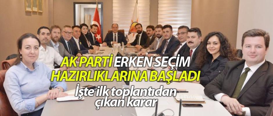 AK Parti Eskişehir'de seçim hazırlıklarına başladı