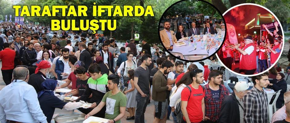 Eskişehirspor Taraftar Birliği İftarına rekor katılım