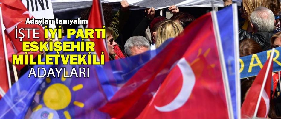 İYİ Parti Eskişehir Milletvekili adaylarını tanıyalım