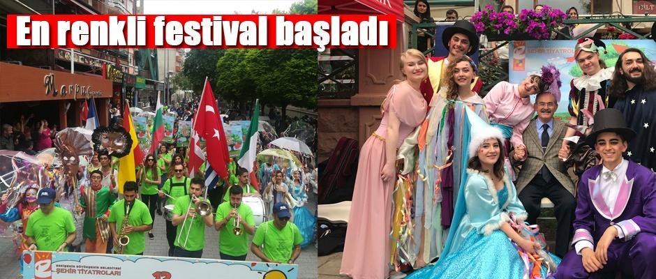 Çocuk ve gençlik tiyatroları bu festivalde buluştu