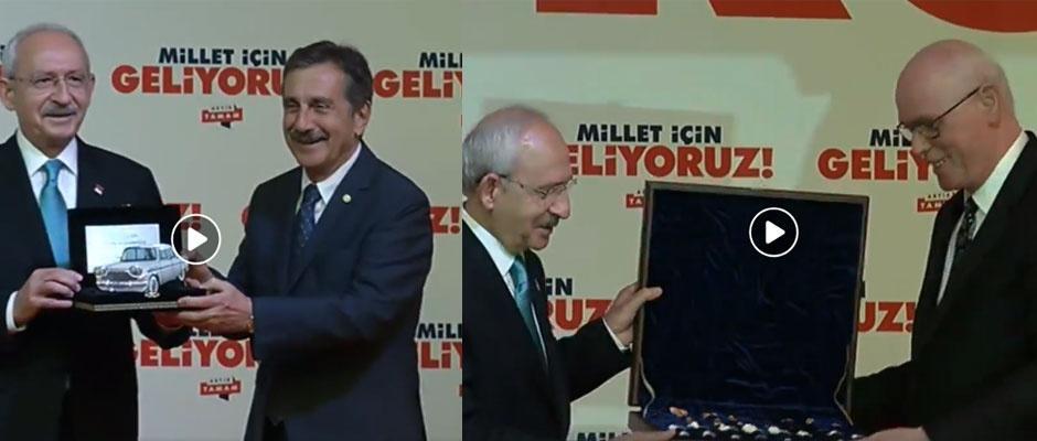 Başkanlardan Kılıçdaroğlu'na özel hediye