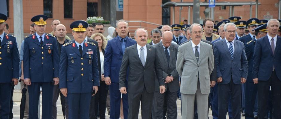 Atatürk'ün Eskişehir'e ilk gelişinin 98. yılı törenle kutlandı