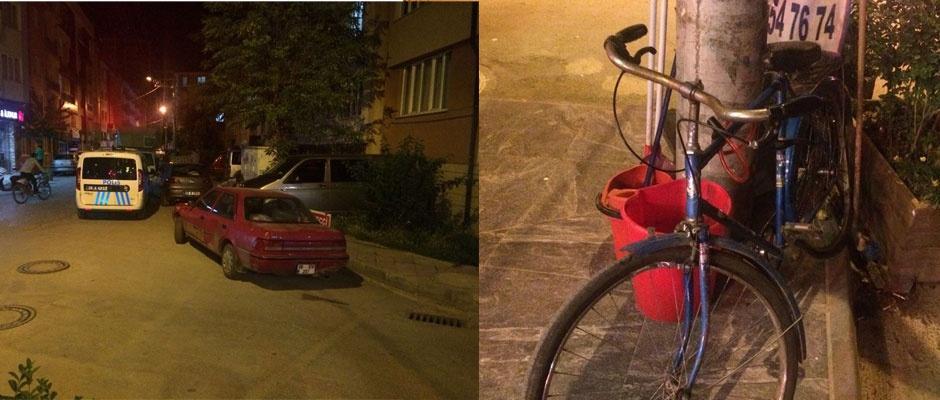 İki aracın arasına sıkışan kadın ölümden döndü
