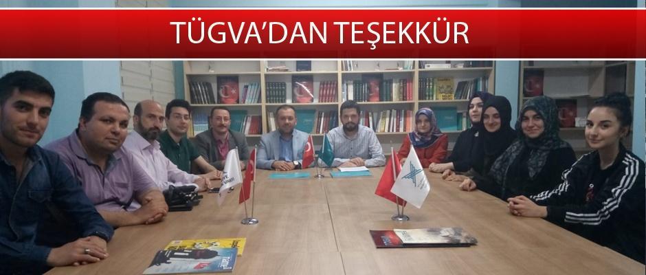 TÜGVA'dan Türk Dünyası Eğitim Başkentliğine destek