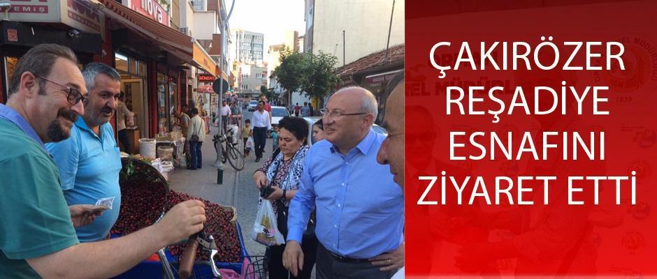 Esnafın sorunları CHP iktidarında çözülecek