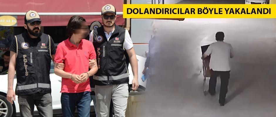 Turcoin dolandırıcıları otoparkta yakalandı