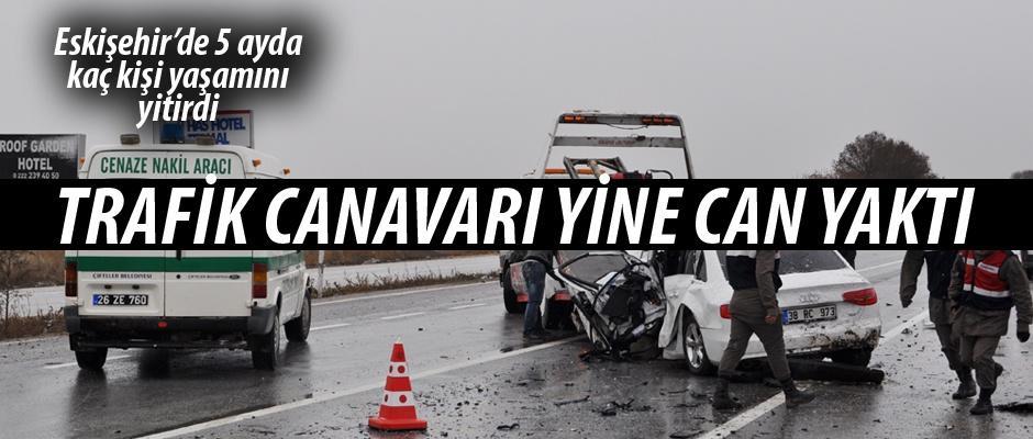 İşte Eskişehir'in trafik kazaları verileri