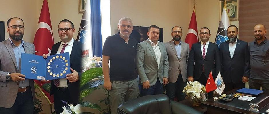 TÜMSİAD'TAN KOSGEB'in yeni müdürüne ziyaret