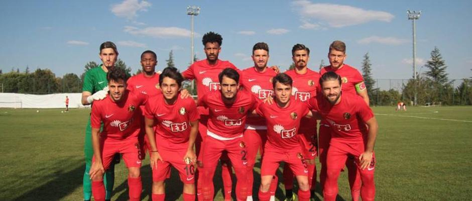 Eskişehirspor'dan ilk hazırlık maçı
