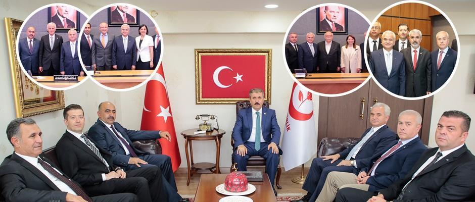 Güler'den  milletvekillerine lobi ziyaretleri