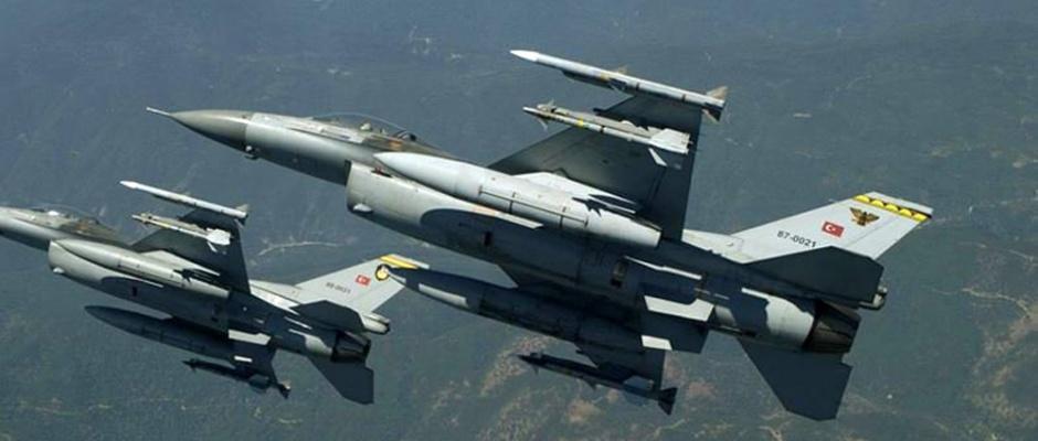 Kuzey Irak'a hava harekatı: Tam 12 terörist !