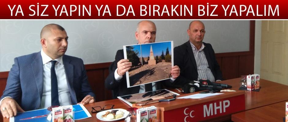 Günyüzü'ndeki şehitliğin durumuna MHP'den tepki