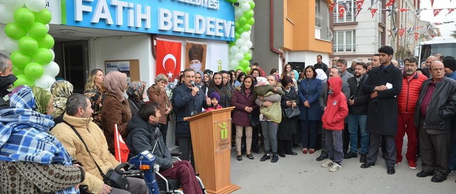 Fatih Belde Evi açıldı