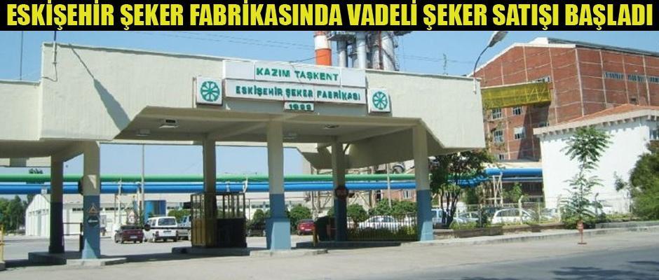 Enflasyonla mücadeleye Eskişehir Şeker Fabrikasından destek