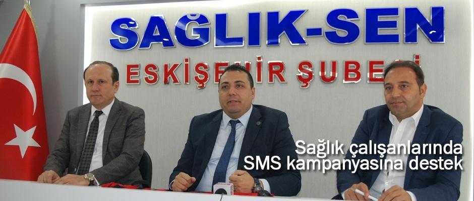 Sağlık Sen'den Eskişehirspor'a destek