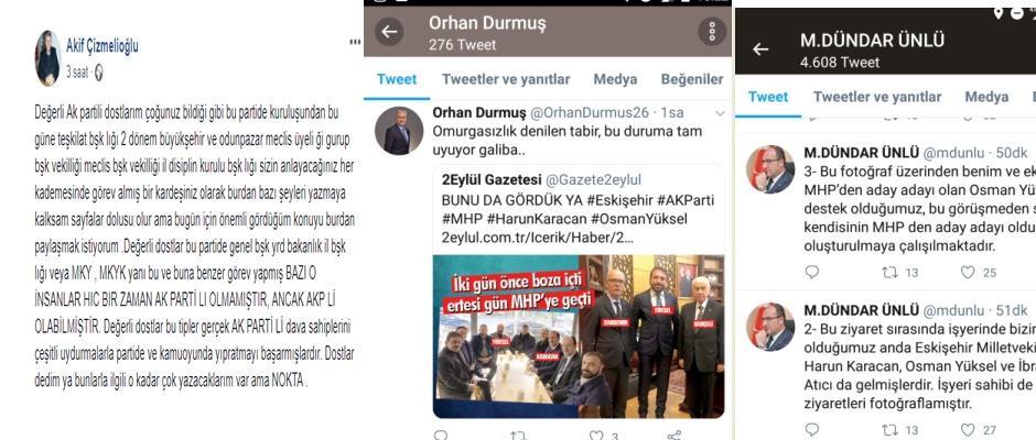 Osman Yüksel'e tepki var