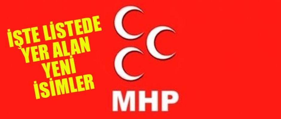 MHP'de il başkanlığı divanı değişti